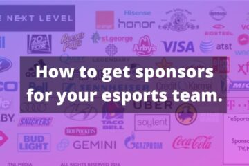 How to get sponsors for your esports team