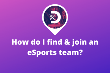 How do I find & join an eSports team?